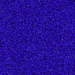 Seed beads, ca 2mm, mörkblåa, 20g