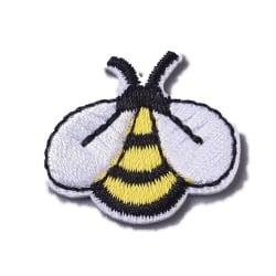 5 tygmärken stryka på små söta bi