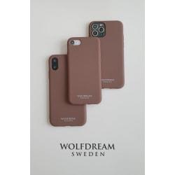 Caramel Brown-MOBILSKAL I TPU TILL IPHONE SE 2020 brun