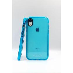 Ciao Blue Transparent skal til Iphone XR blå
