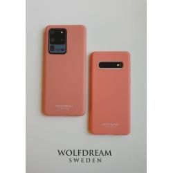 PEACH MOBILSKAL I TPU till Samsung S20ULTRA orange