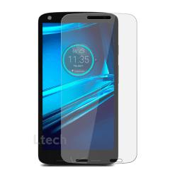 2-Pack Motorola Moto X Force Härdat Glas Skärmskydd 0,3mm Transparent