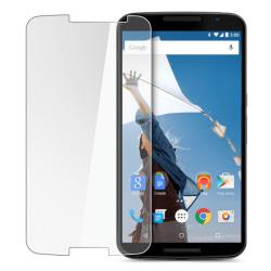 2-Pack Motorola Nexus 6 Härdat Glas Skärmskydd 0,3mm Transparent