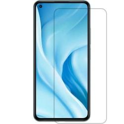 2-Pack Xiaomi Mi 11 Lite Härdat Glas Skärmskydd 0,3mm Transparent