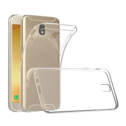 Samsung J5 2017 Genomskinligt Mjukt TPU Skal Transparent