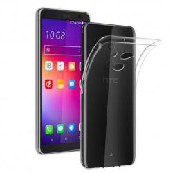 HTC U11 Plus Transparent Mjuk TPU Skal Transparent