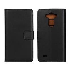 LG G5 Läder Plånboksfodral - Svart / Brun Svart