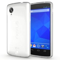 LG Nexus 5 Genomskinligt Mjukt TPU Skal Transparent