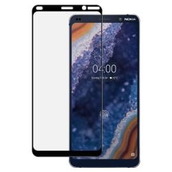 Nokia 9 PureView Heltäckande 3D Härdat Glas Skärmskydd 0,2mm Transparent