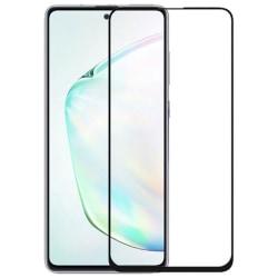 Samsung Galaxy Note 10 Lite Heltäckande 3D Härdat Skärmskydd Transparent