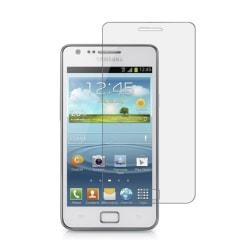Samsung Galaxy S2 Härdat Glas Skärmskydd 0,3mm - Snabb Leverans! Transparent