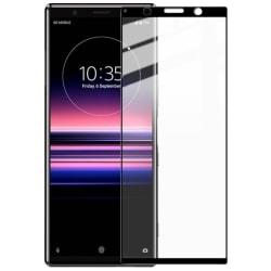 Sony Xperia 5 Heltäckande 3D Härdat Glas Skärmskydd 0,2mm Transparent
