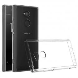 Sony Xperia L2 Transparent Mjuk TPU Skal Transparent