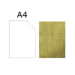Papper Artoz Dorato A4 94g Guld 819, 5 ark/fp Guld
