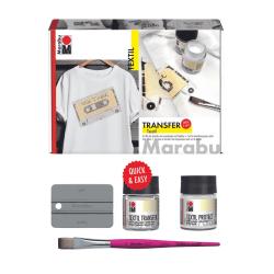 Textiltransfer-set: Eget tryck från laserutskrift till ljust tyg multifärg