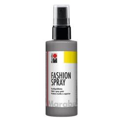 Textilfärg sprayflaska Marabu Fashion Spray 100ml Grey (078) grå