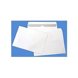 Kuvert C5 80g självhäftande vit 100/fp Vit