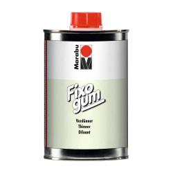 Förtunningsmedel/Thinner till Marabu Fixogum gummiklister, 500ml Transparent