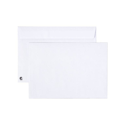 Kuvert C5 Vit 90g med Peal n Seal-täckremsa, 25 kuvert/fp Vit