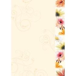 Motivpapper Sigel Flowerstyle DP788 A4 90gram, 50 ark/fp multifärg