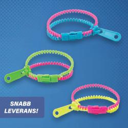 Zipper Armband Fidget Toy 5-pack