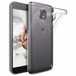 Motorola Moto G5s Skal i genomskinligt gummi, Transparent