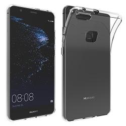 Skal i genomskinligt gummi, Huawei P10 Lite Transparent