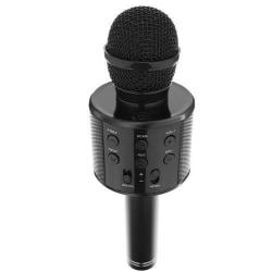 Karaoke mikrofon med högtalare  Svart