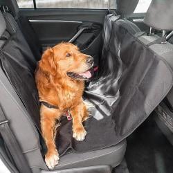 Hundskydd för baksäte / Baksätesskydd 135x145 Svart