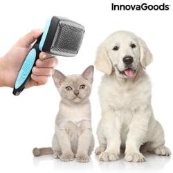 InnovaGoods Självrengörande Hundborste / Kattborste Vit
