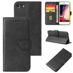 Plånboksfodral iPhone 7 / 8 / SE (2020), 3 kort Svart