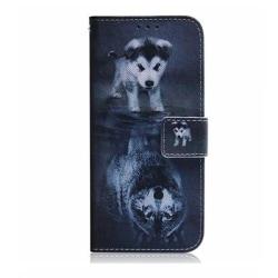 Plånboksfodral, Samsung S20 Ultra, Valp grå