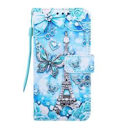 Plånboksfodral, Samsung S20 Plus, Paris Blå Blå