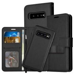 Samsung S21 Plus 5G Plånboksfodral / Magnetskal  Svart