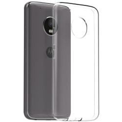 Motorola Moto G5 Plus Skal i genomskinligt gummi,  Transparent