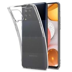 Skal Samsung A42 5G i genomskinligt gummi Transparent