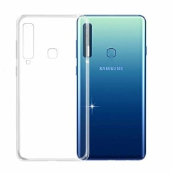 Skal Samsung A9 2018 i genomskinligt gummi Transparent