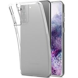 Skal Samsung S21 Plus i genomskinligt gummi Transparent