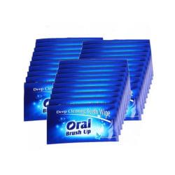 Tandrengörare Brush Up - 30 Pack
