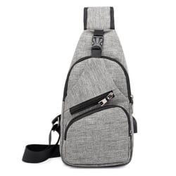 Chest Bag grå