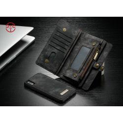Case Me magnetic wallet  - iPhone XR Svart