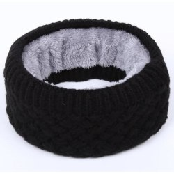 Knit Scarf Svart