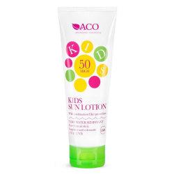 ACO Sol Kids Spf 50 125ml Transparent