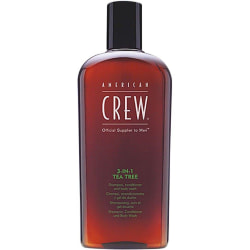 American Crew 3-in-1 Tea Tree 450ml Transparent
