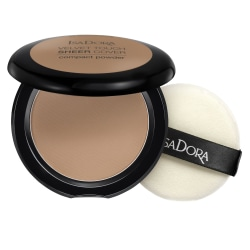 Isadora Velvet Touch Sheer Cover Compact Powder Neutral Almond Transparent
