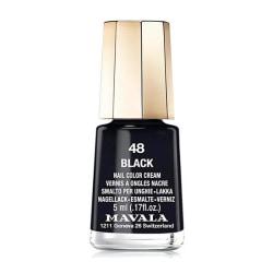 Mavala Minilack 48 Black 5ml Transparent