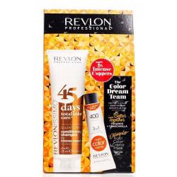 Revlon The Color Dream Team 400 Tangerine 50ml +  45 Days Total  Transparent