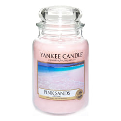 Yankee Candle Classic Large Jar Pink Sands Candle 623g Transparent