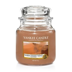 Yankee Candle Classic Medium Warm Desert Wind Transparent