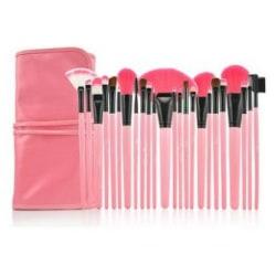 Lilyz Pink Brush Set 24 st. sminkborstar